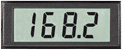3 1/2 DIGIT LCD PANEL METERS