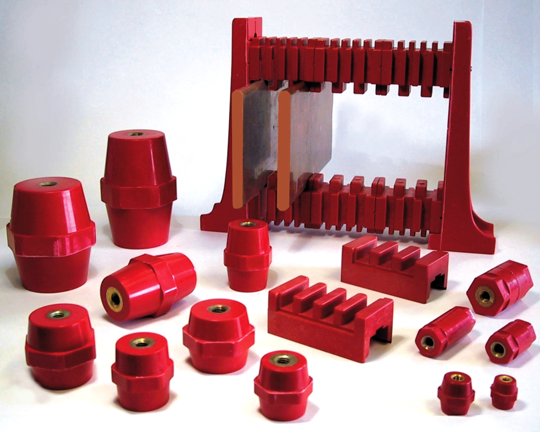 insulators and busbar holders