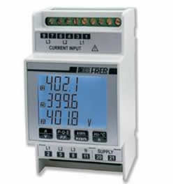 Compact DIN Rail Mounted Multifunction Analysers