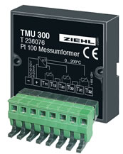 Temperature relays and sensors from Ziehl